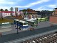Busses at terminal