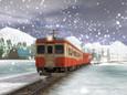 Kiha52 in snow 2