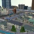 水の都鳥瞰:東側住宅街