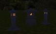 Tourou at night
