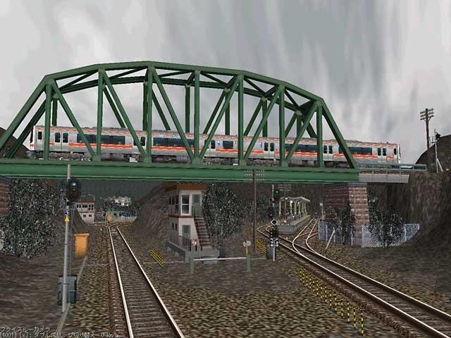 冬景色:鉄橋