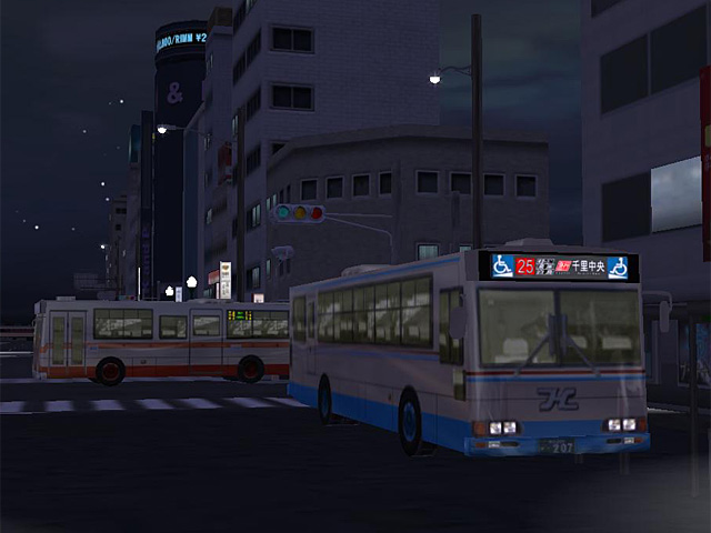 BUS Ver.2 at night