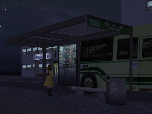 Bus stop urban type
