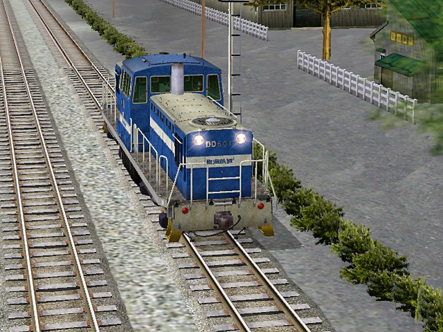 DL at Rinkai railway (2)