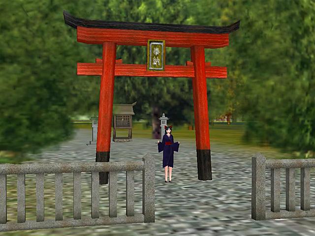 Torii gate red