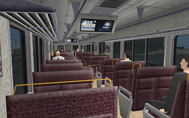 JR 225 interior