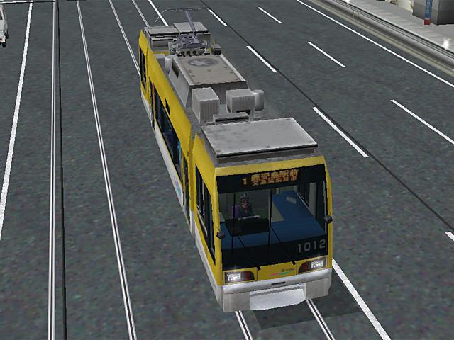 Kagoshima city tram 1000s / Little Dancer A3 (3)