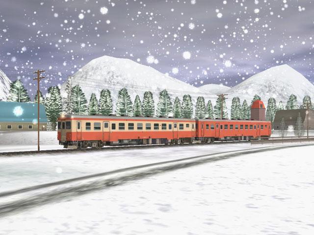 Kiha52 snow 1