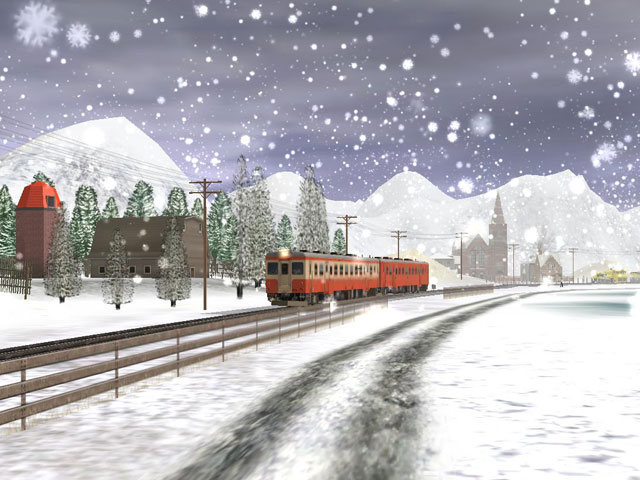 Kiha52 in snow 3