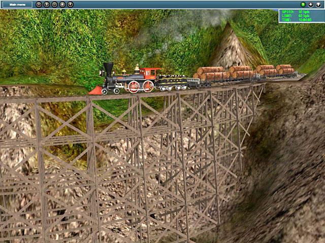 森林鉄道:渓谷(2)