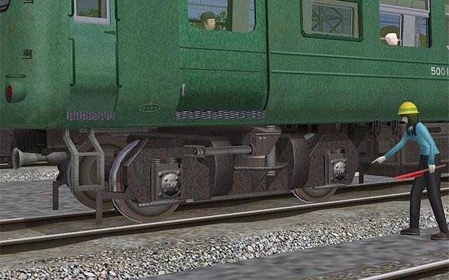 TS301 bogey